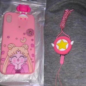 Sailor Moon I Phone XS Max Case